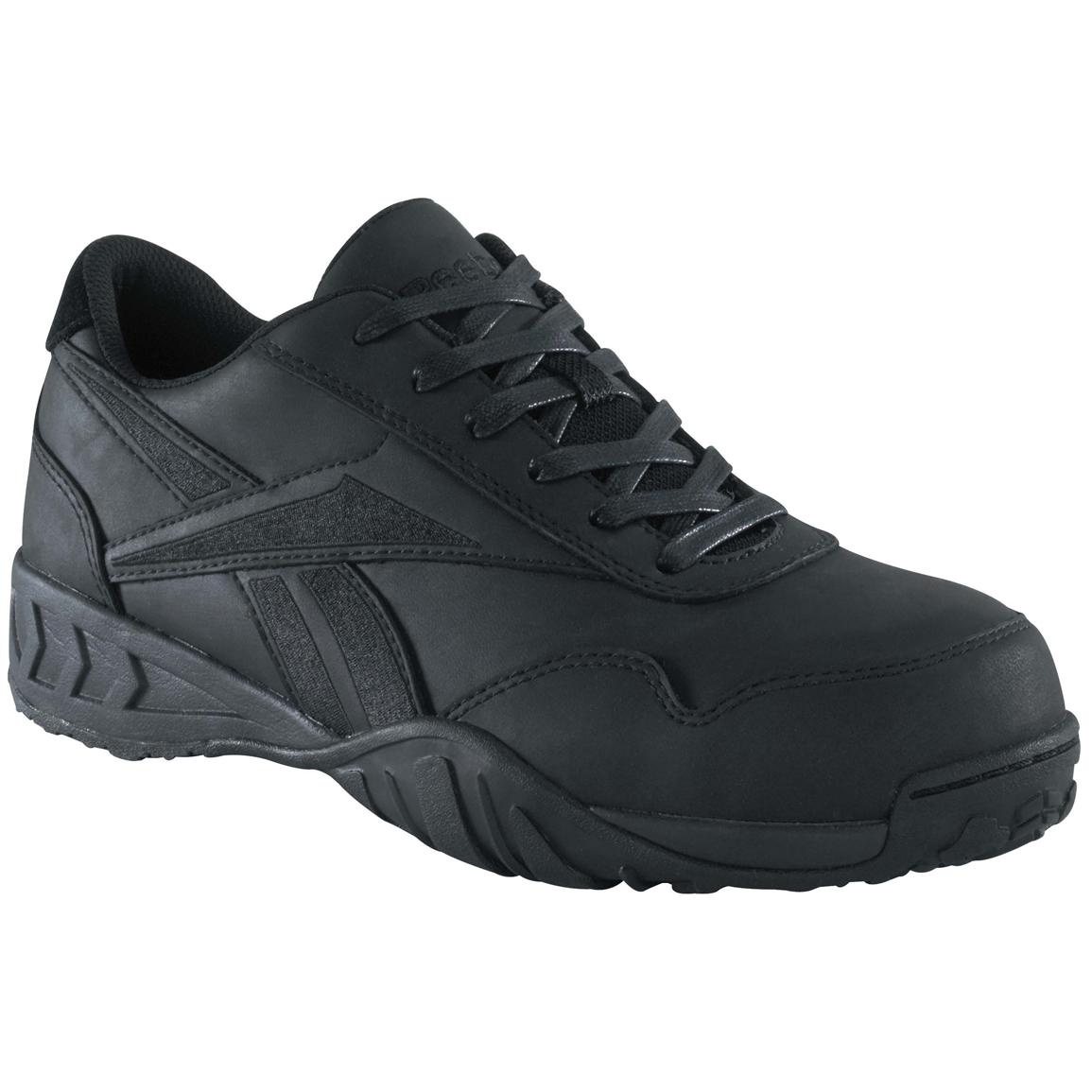 Women's Reebok® Low Profile Composite Toe Oxford Shoes, Black