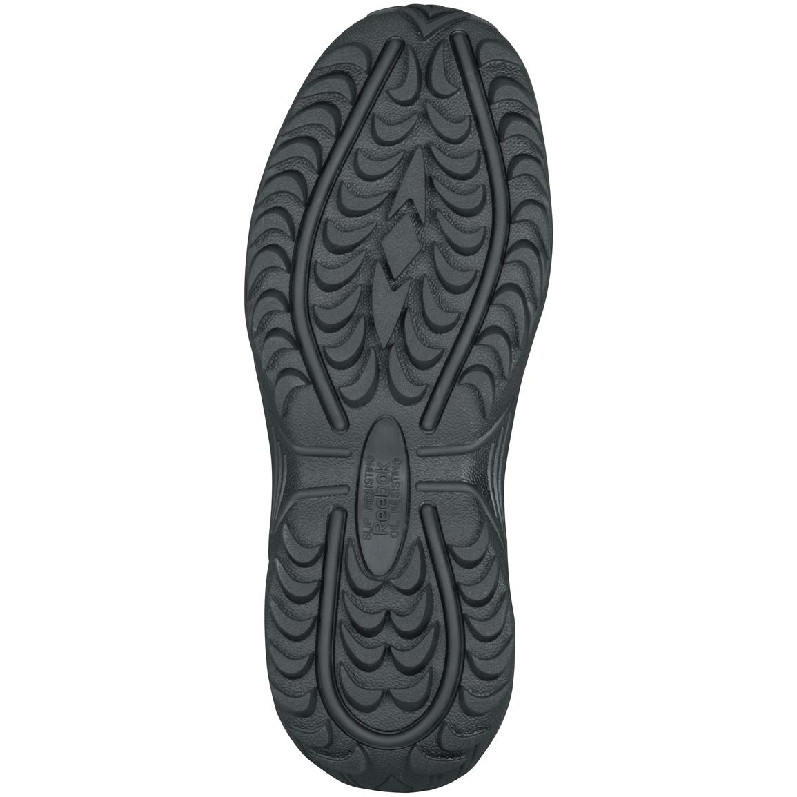 Mountain Trail rubber outsole with aggressive tread for traction