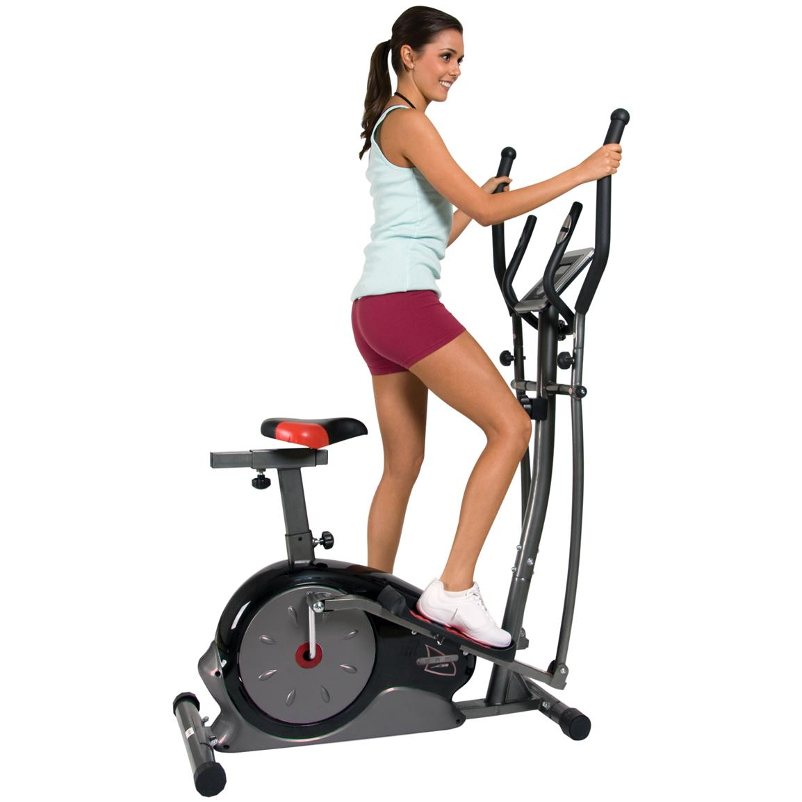 Body Champ Magnetic Cardio Dual Trainer