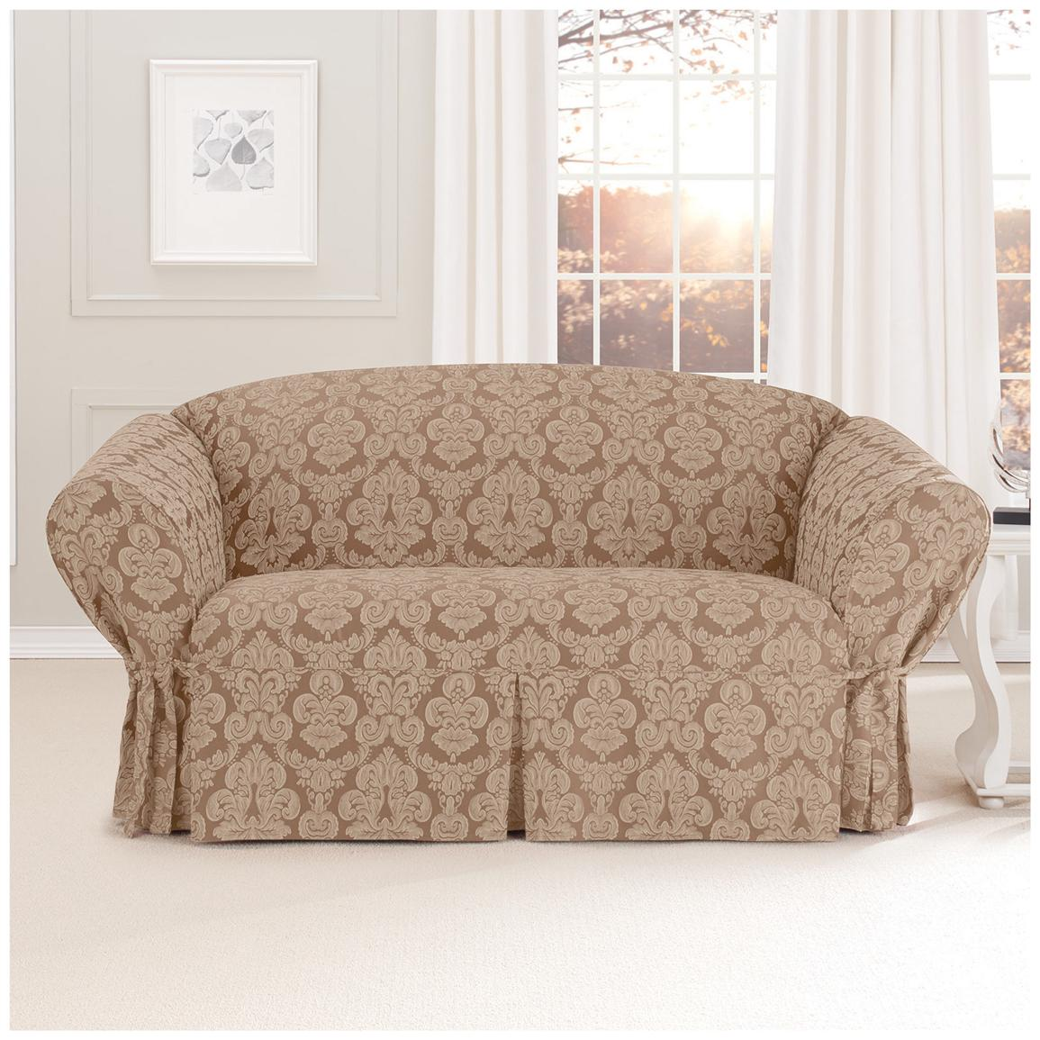 Sure fit middleton loveseat slipcover 581236 furniture covers at sportsman 39 s guide Loveseat slipcover