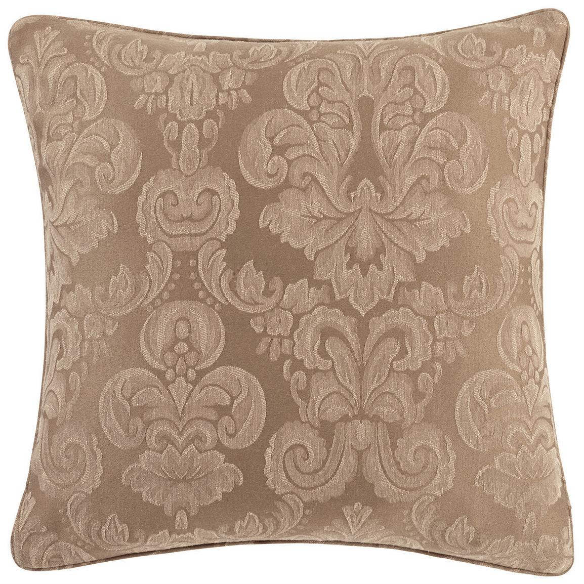 "Sure Fit® Middleton 18"" Throw Pillow, Mushroom"