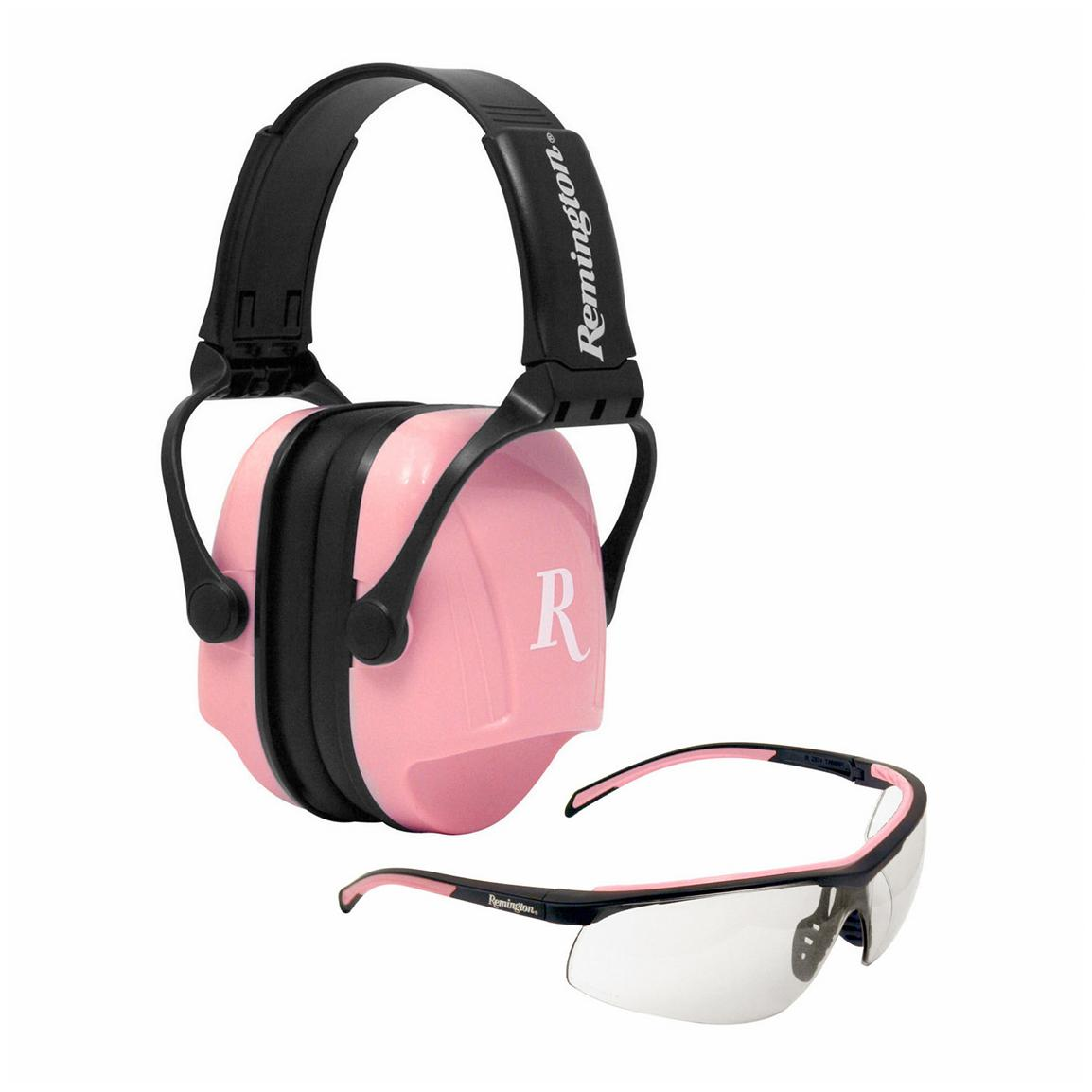 Radians® Remington Women's T-71P / MP-22 Ear Muff & Shooting Glasses Kit
