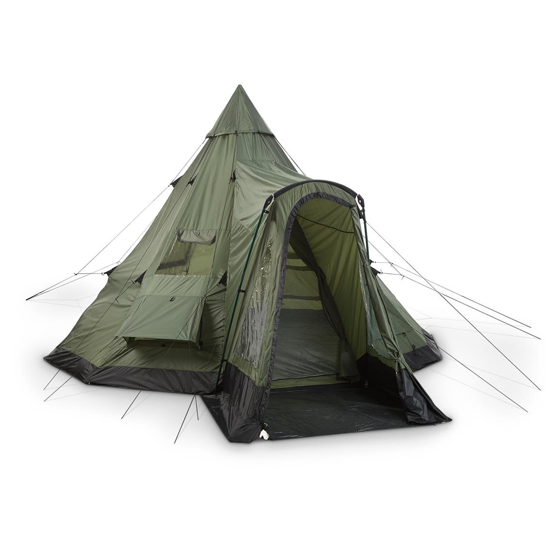 Guide Gear® Deluxe Teepee Tent 14 foot x 14 foot