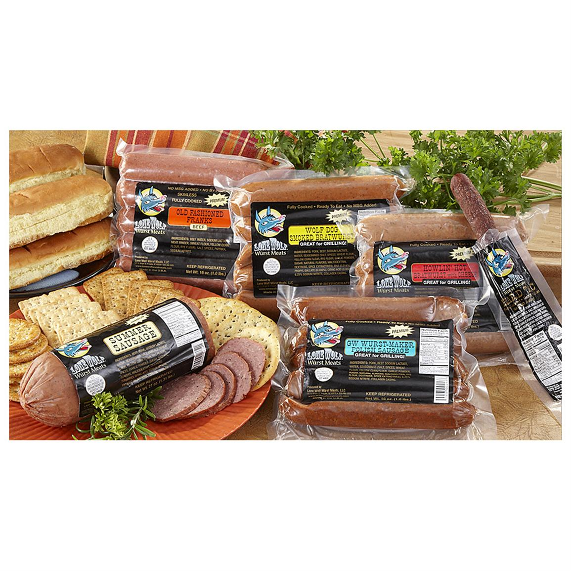 Lone Wolf Wurst Meats® Variety Pack 1