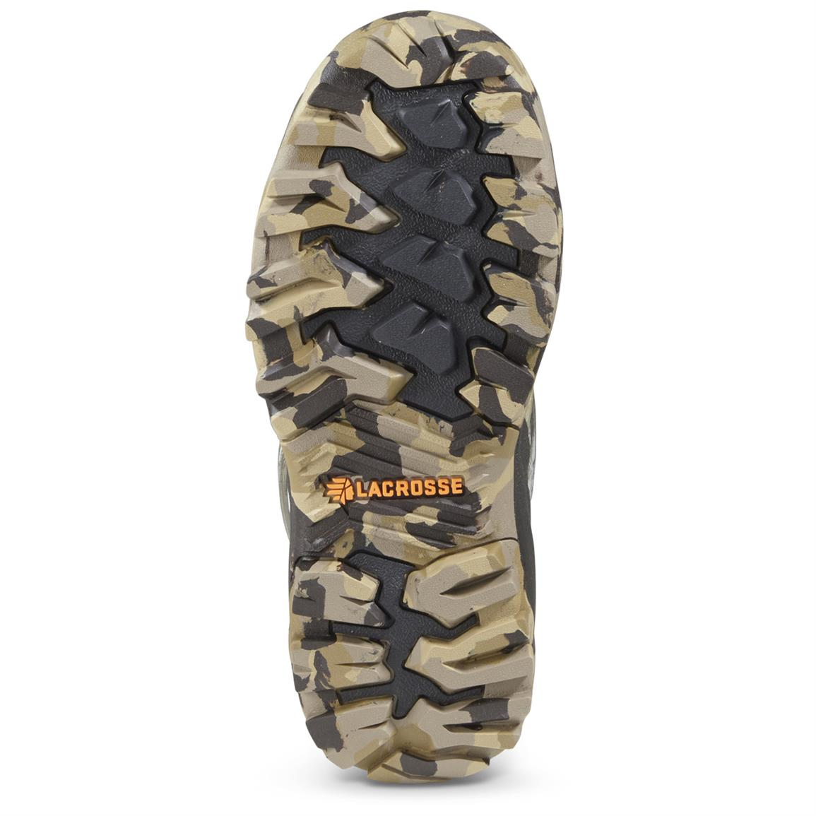 The non-loading Burly Pro outsole provides terrific traction in all hunting conditions