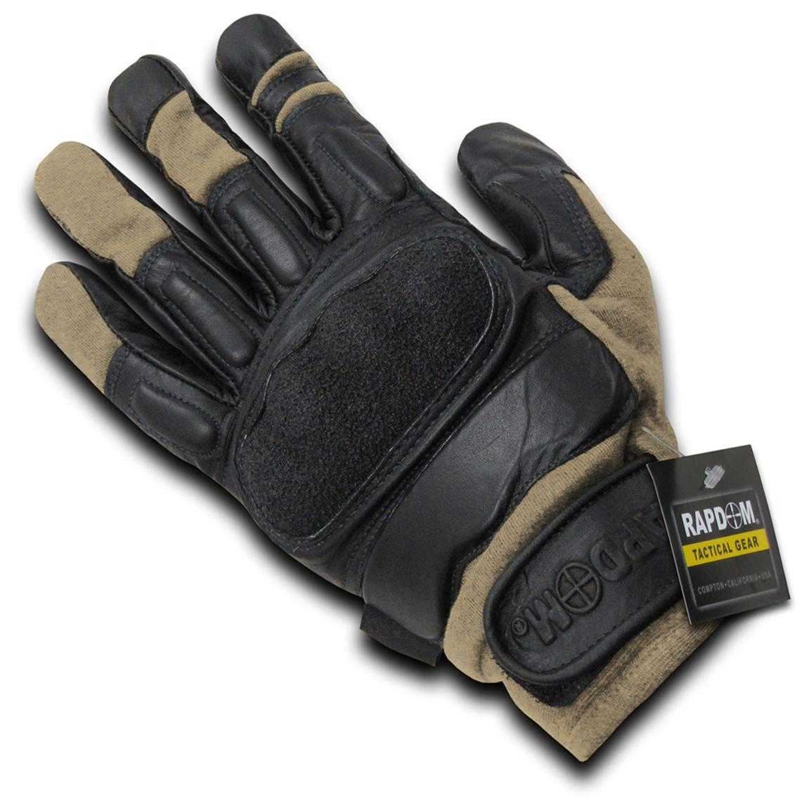 Rapid Dominance Tactical Gloves with Kevlar®, Khaki