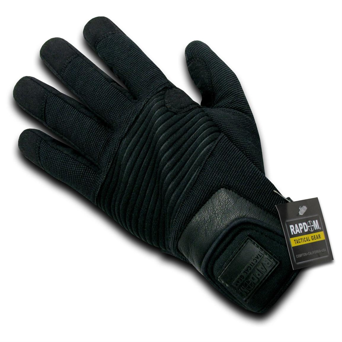 Rapid Dominance Rope Rescue Gloves, Black