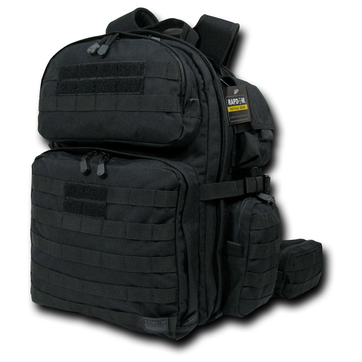 Rapid Dominance Tactical Rex (T-Rex) Assault Pack, Black
