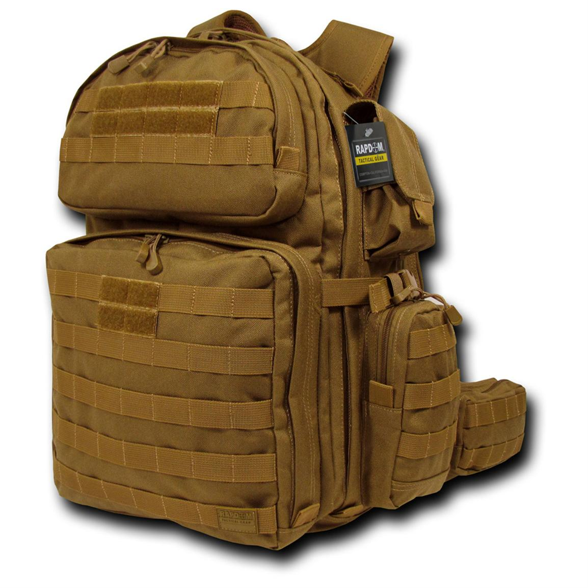 Rapid Dominance Tactical Rex (T-Rex) Assault Pack, Coyote
