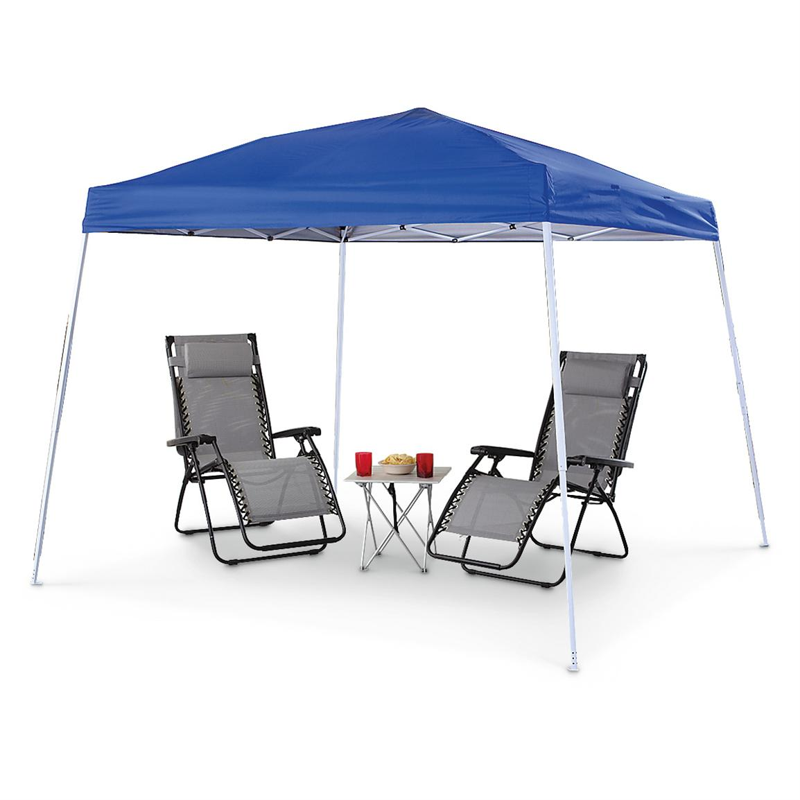 Guide Gear 10 foot x 10 foot Instant Pop Up Canopy
