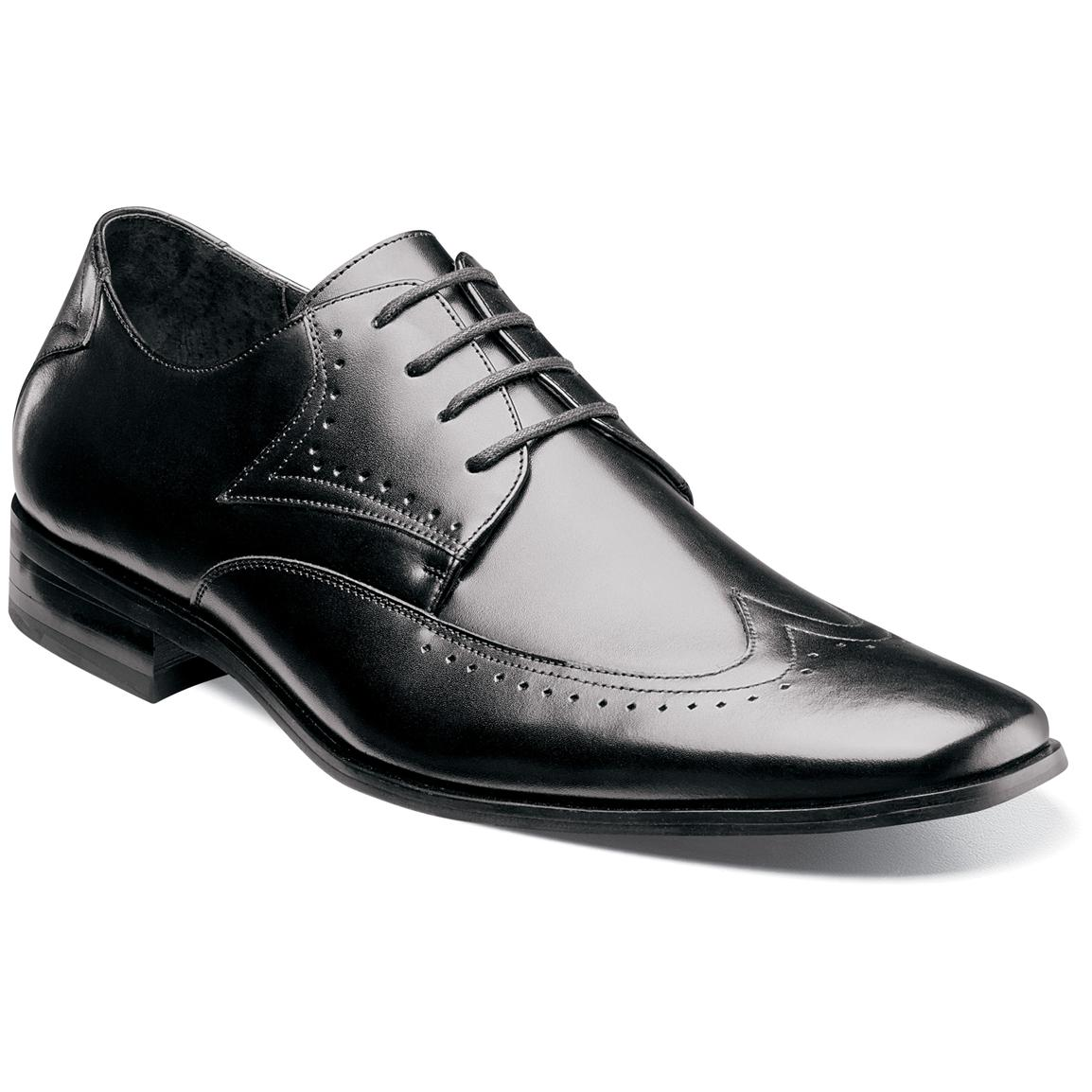 Free shipping and returns on Stacy Adams Lavine Wingtip Monk Shoe (Men) at trueffil983.gq Hex-embossed insets bring distinctive texture to an updated wingtip shoe topped with a /5(10).