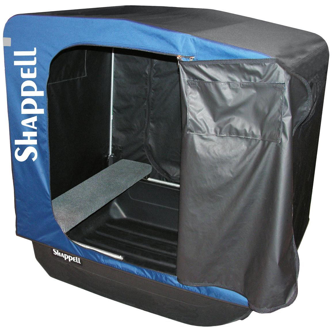 Ice fishing shelter shappell related keywords ice for Ice fishing shanty