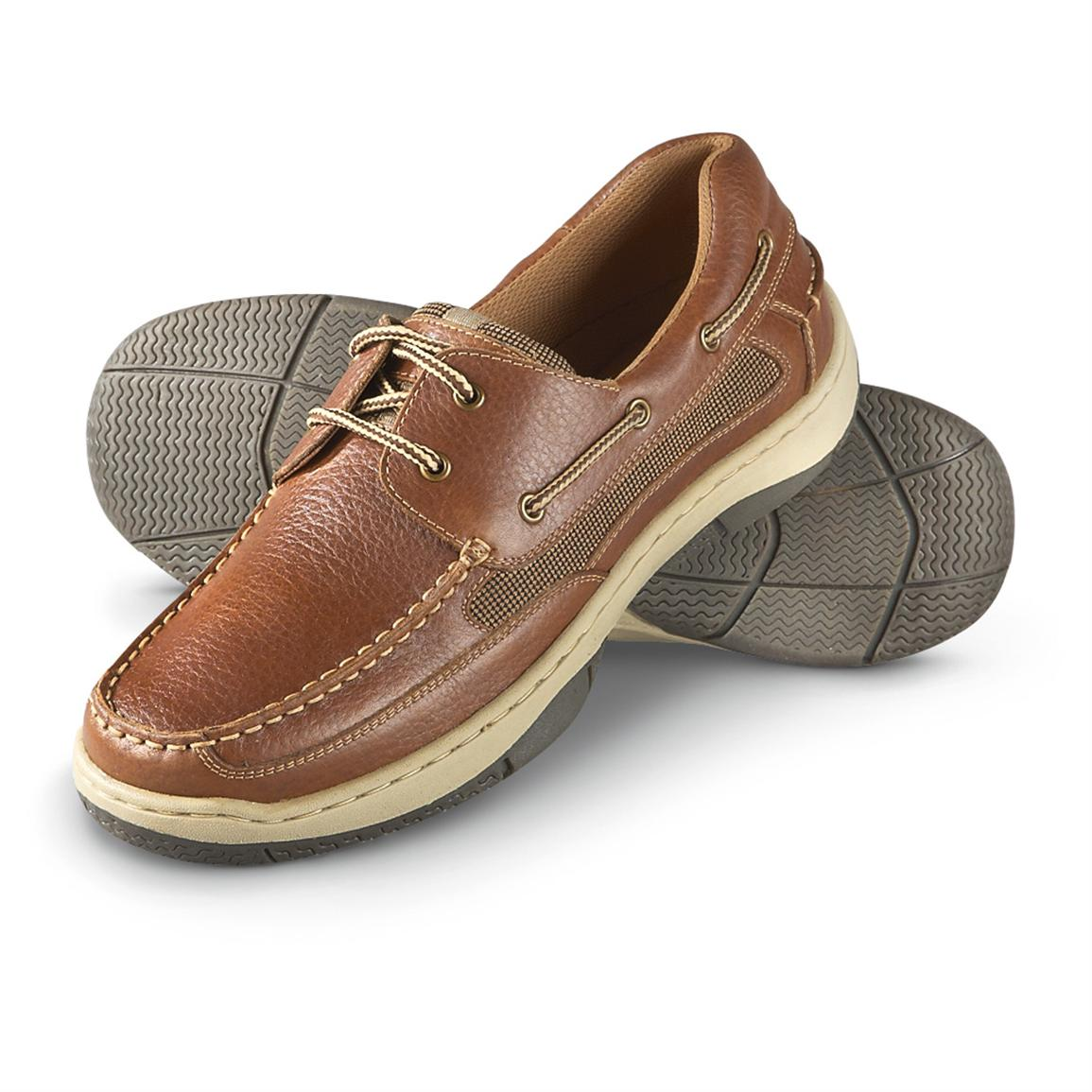 Guide Gear Boat Shoes, Tan