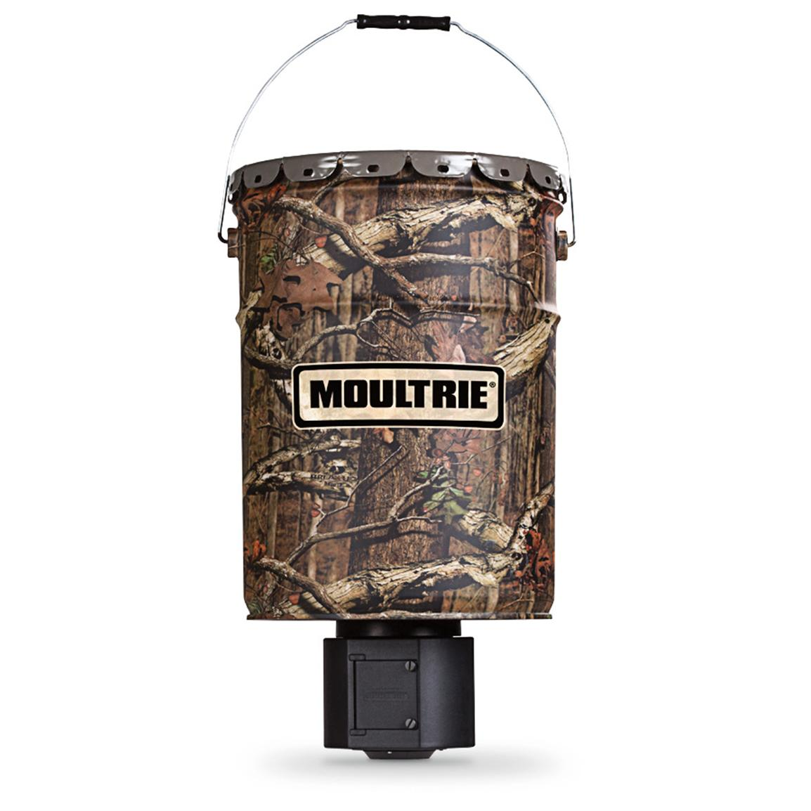 Moultrie® Quiet 6.5-gallon Hanging Deer Feeder