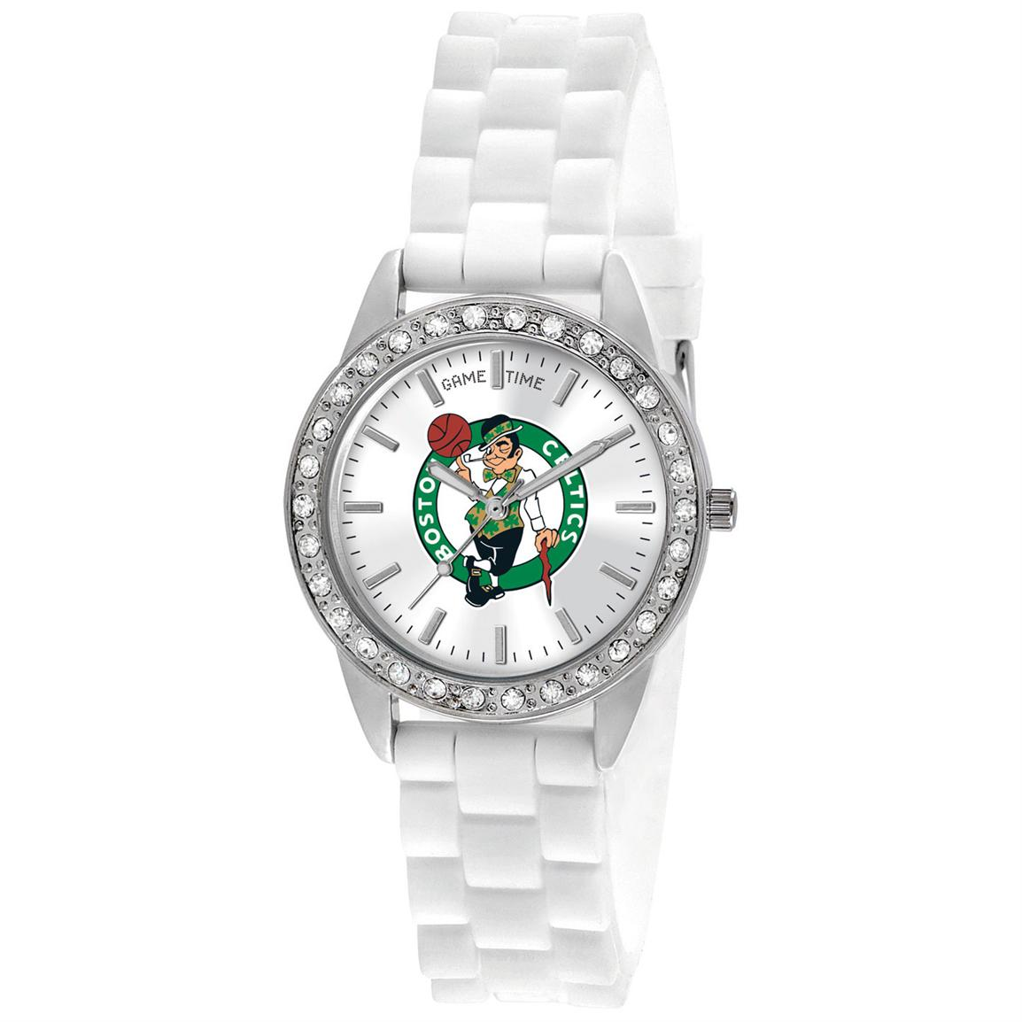 Women's Game Time® NBA® Frost Series Watch, Celtics