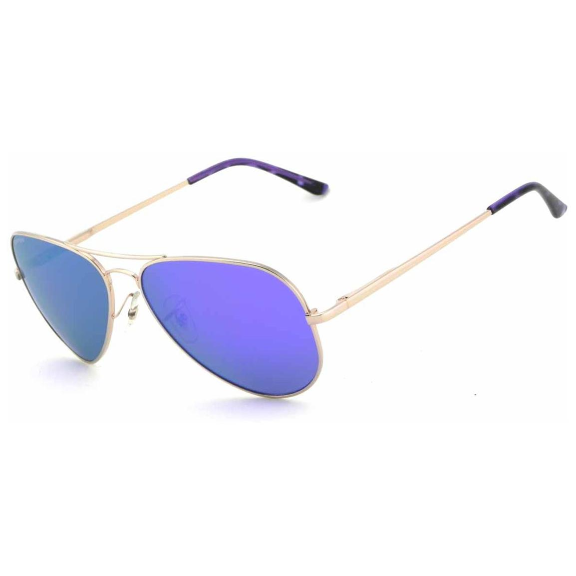Pepper's® Maverick Polarized Sunglasses, Gold / Purple
