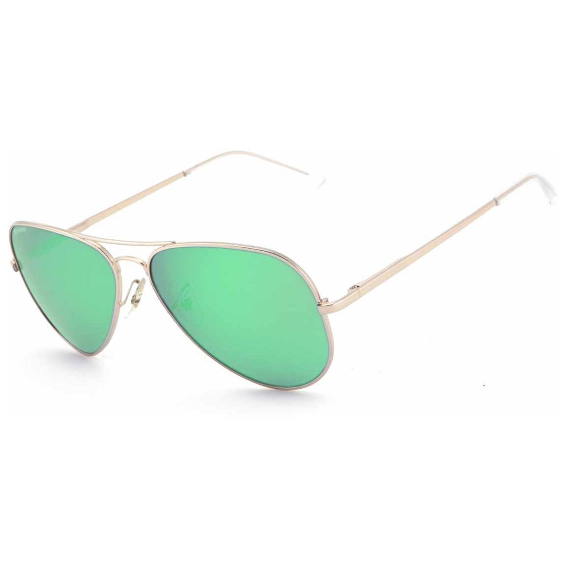 Pepper's® Maverick Polarized Sunglasses, Gold / Green