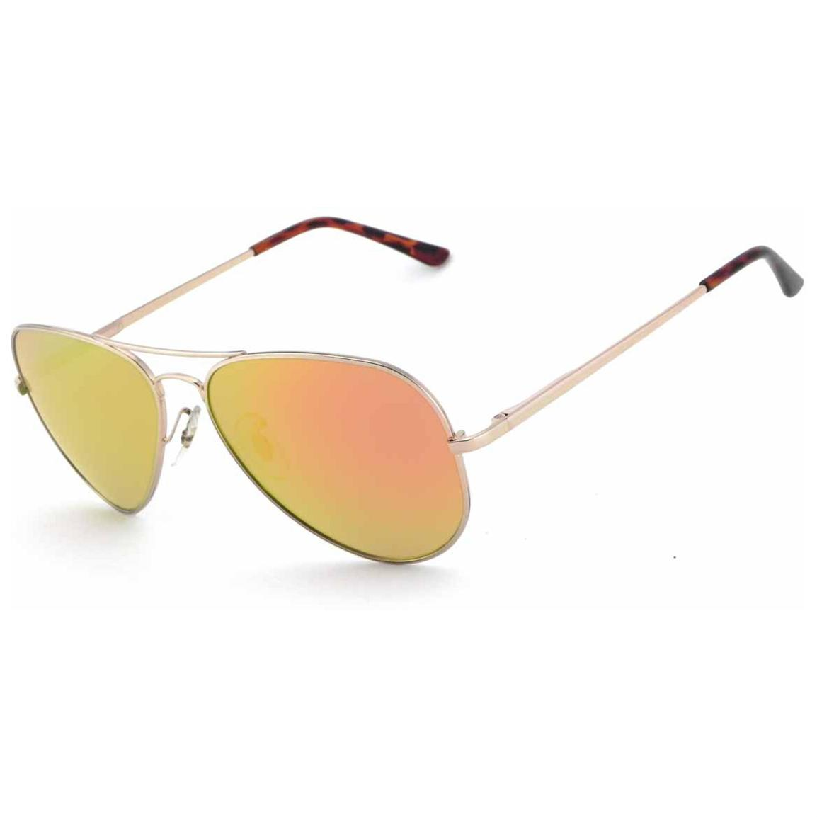 Pepper's® Maverick Polarized Sunglasses, Gold / Gold