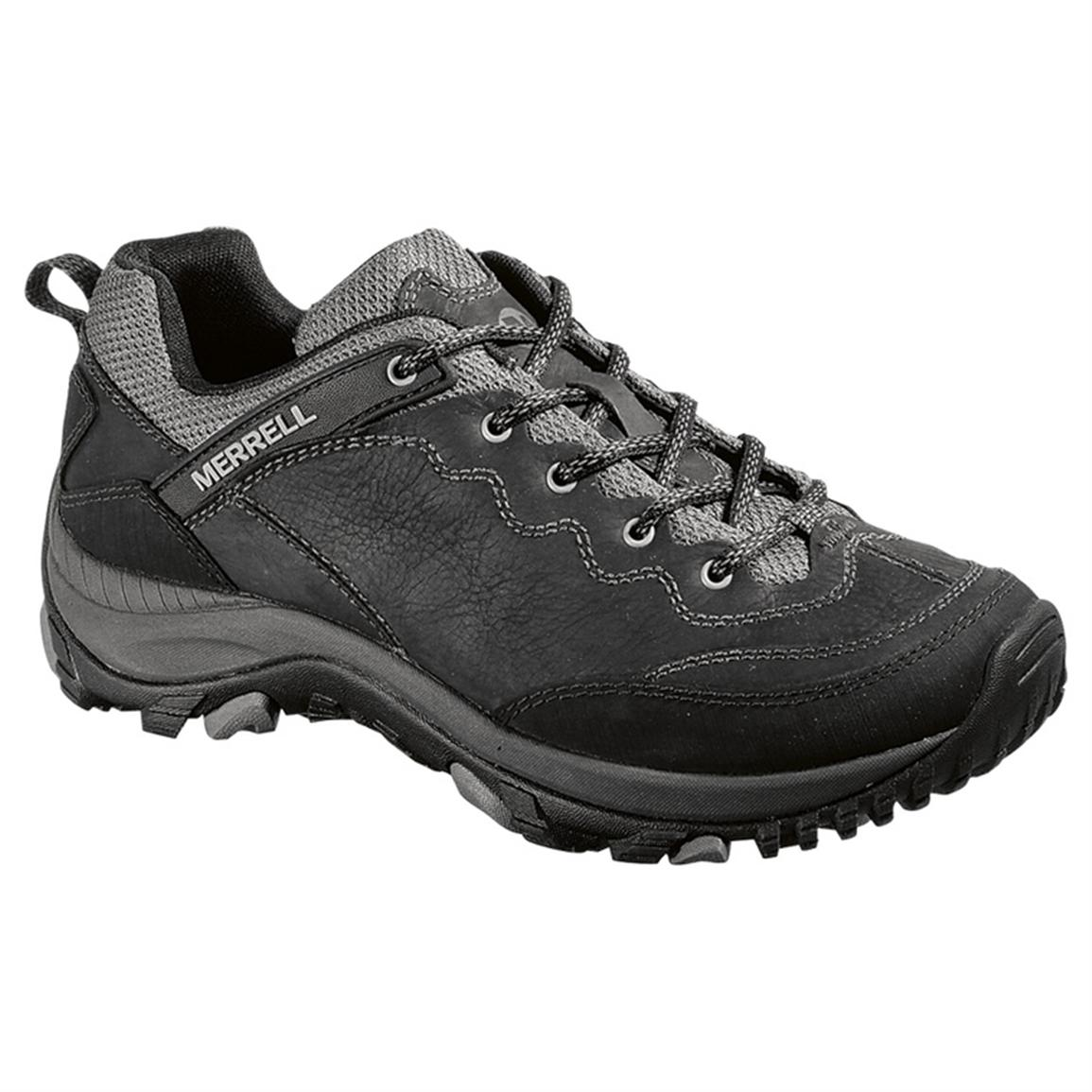 Women's Merrell® Salida Trekker Hiking Shoes, Black