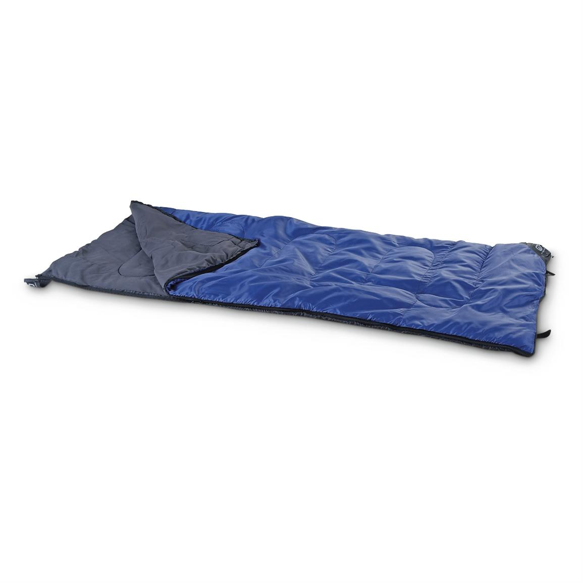 Outbound Classic 2 40 Degree Sleeping Bag • Comfort rated to 40 Degrees F • Measures 33 x 75 inches long