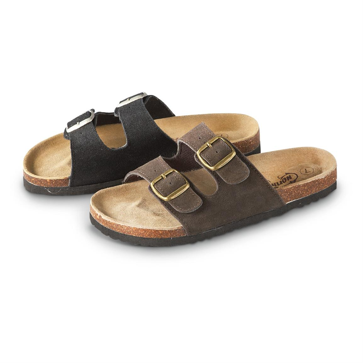 Women's Northside Mariani Sandals, Black / Brown