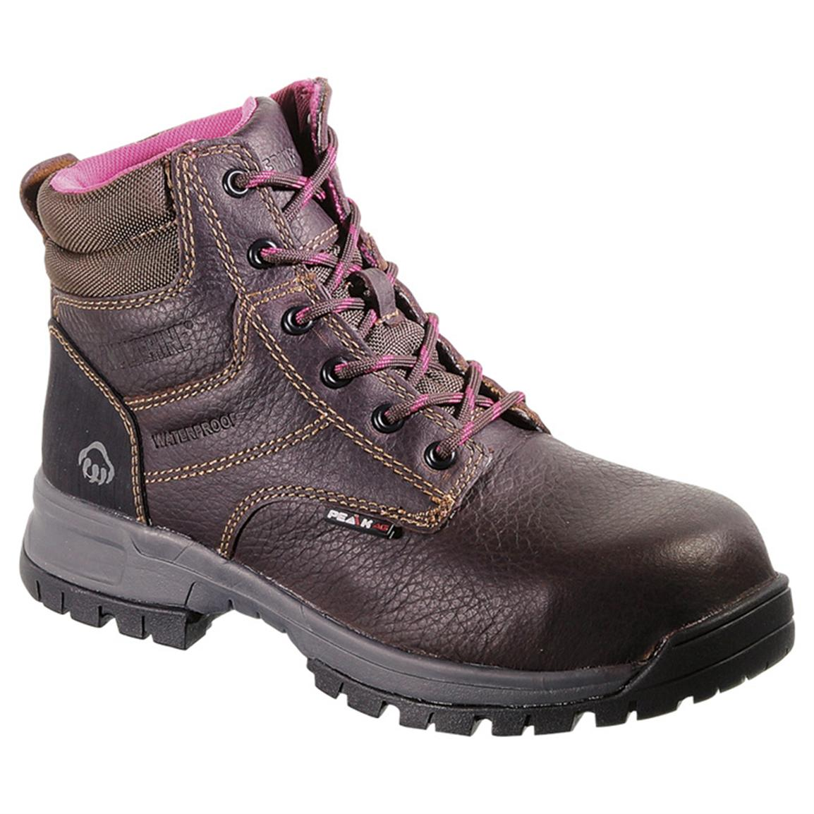 Women's Wolverine® Piper Peak AG CT Boots, Brown