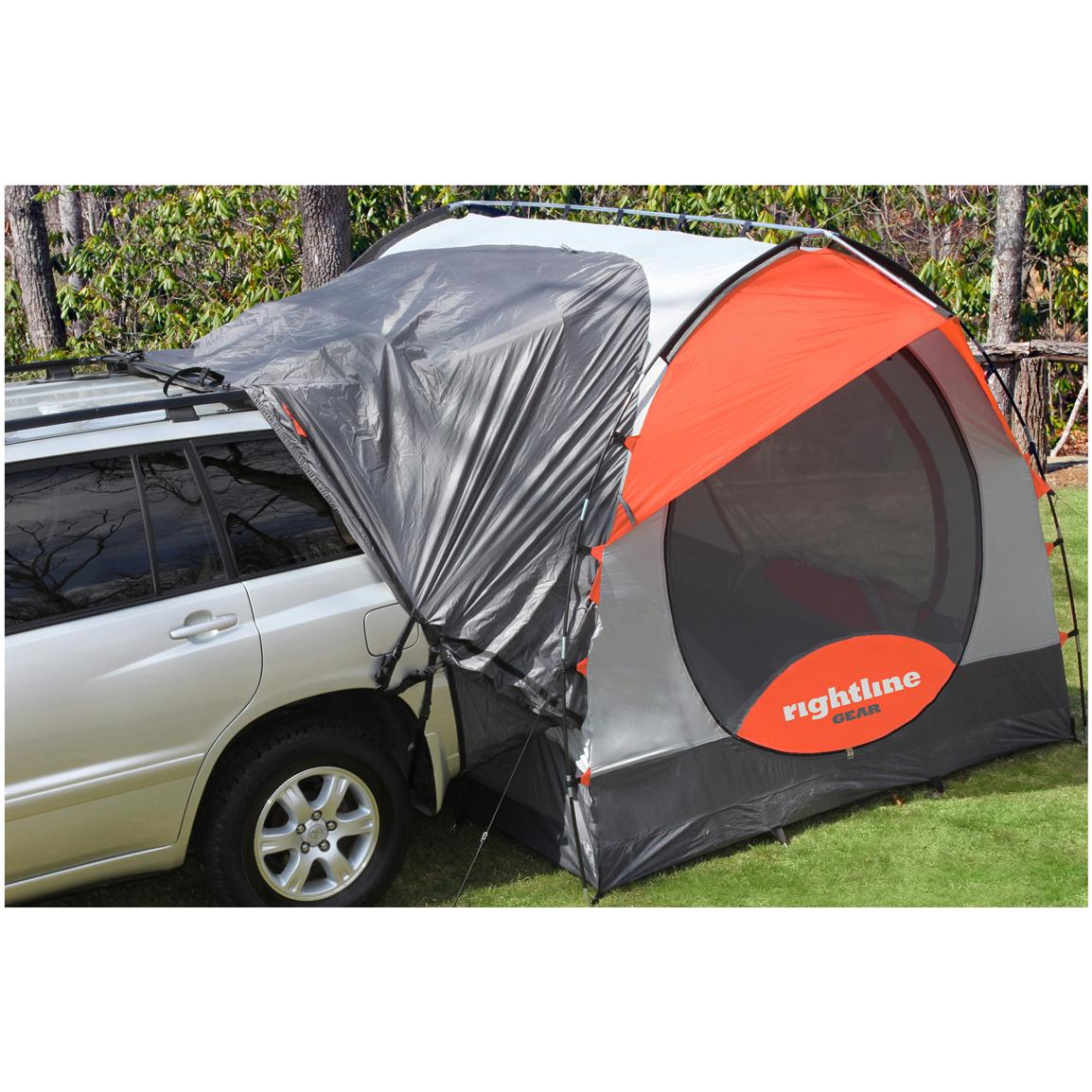 Tent sleeps four (4) vehicle cargo area sleeps two (2)  sc 1 st  Sportsmanu0027s Guide & Rightline Gear® SUV Tent - 584419 Truck Tents at Sportsmanu0027s Guide