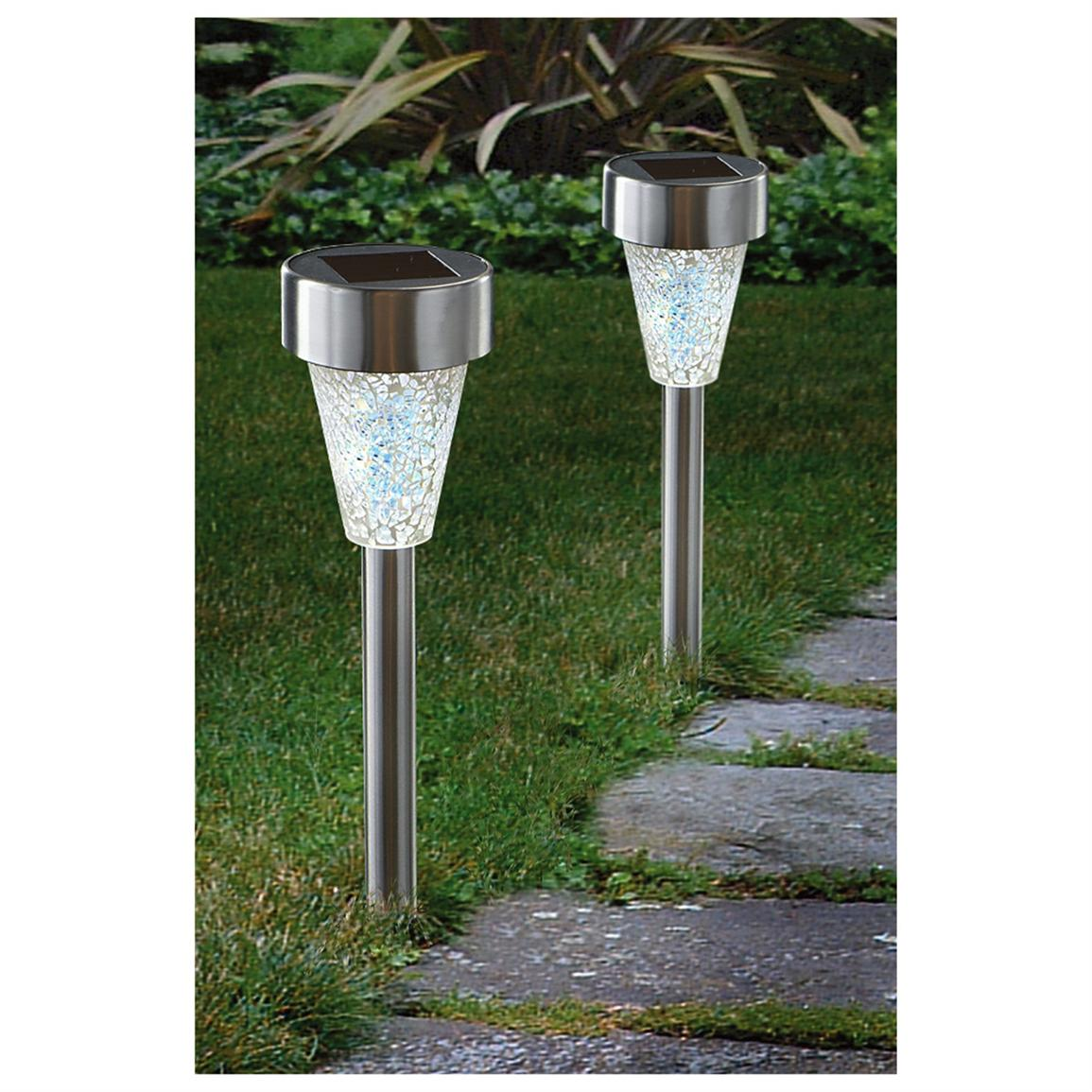 12 Westinghouse® Mosaic Glass Solar Lights