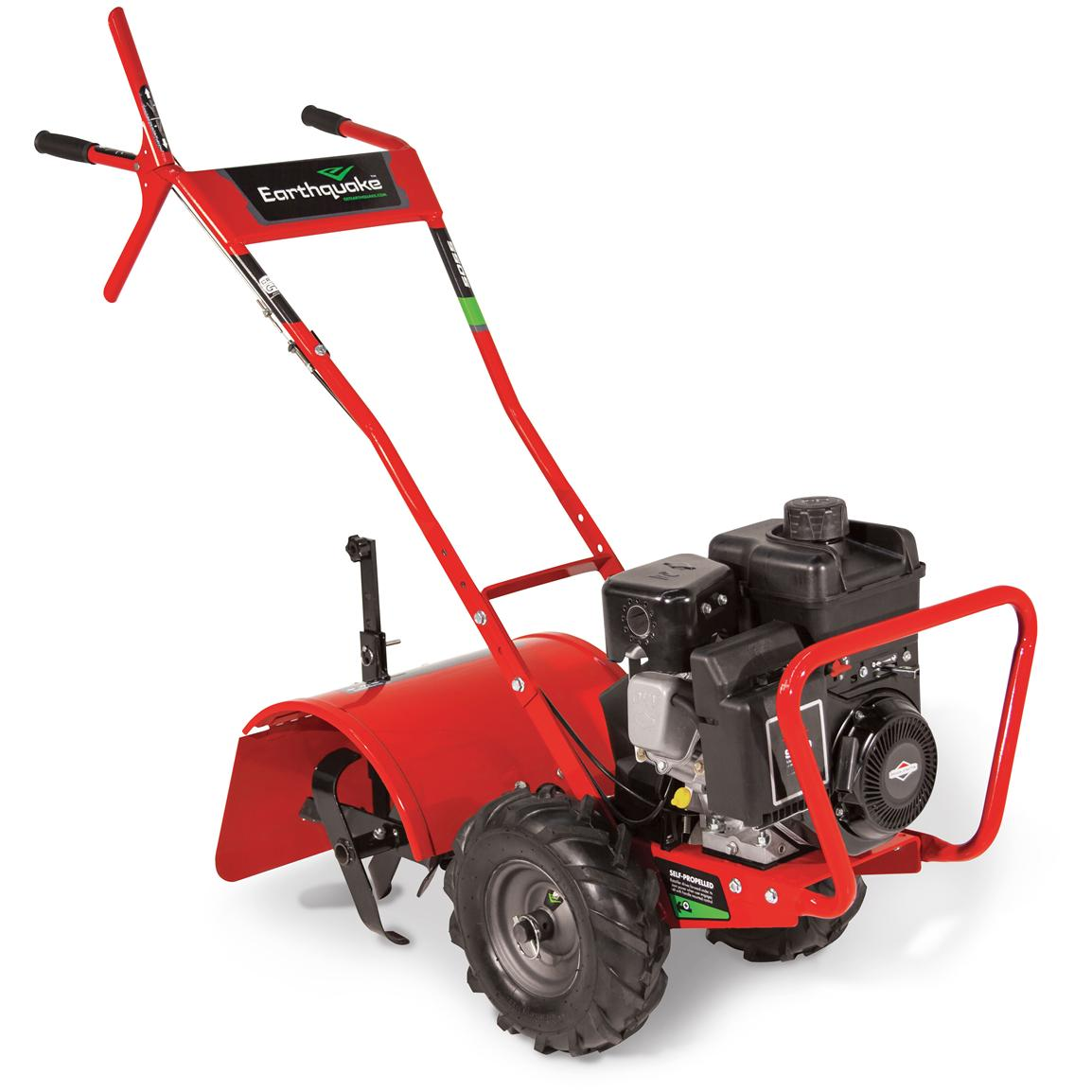 Earthquake 5055c Full Size 16 Counter Rotating Rear Tine Tiller 587908 Earth Augers