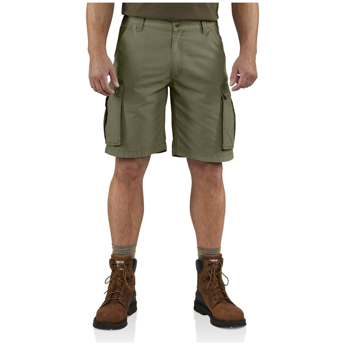 Carhartt® Rugged Cargo Shorts, Army Green