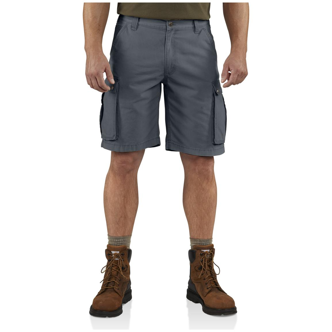 Carhartt® Rugged Cargo Shorts, Bluestone