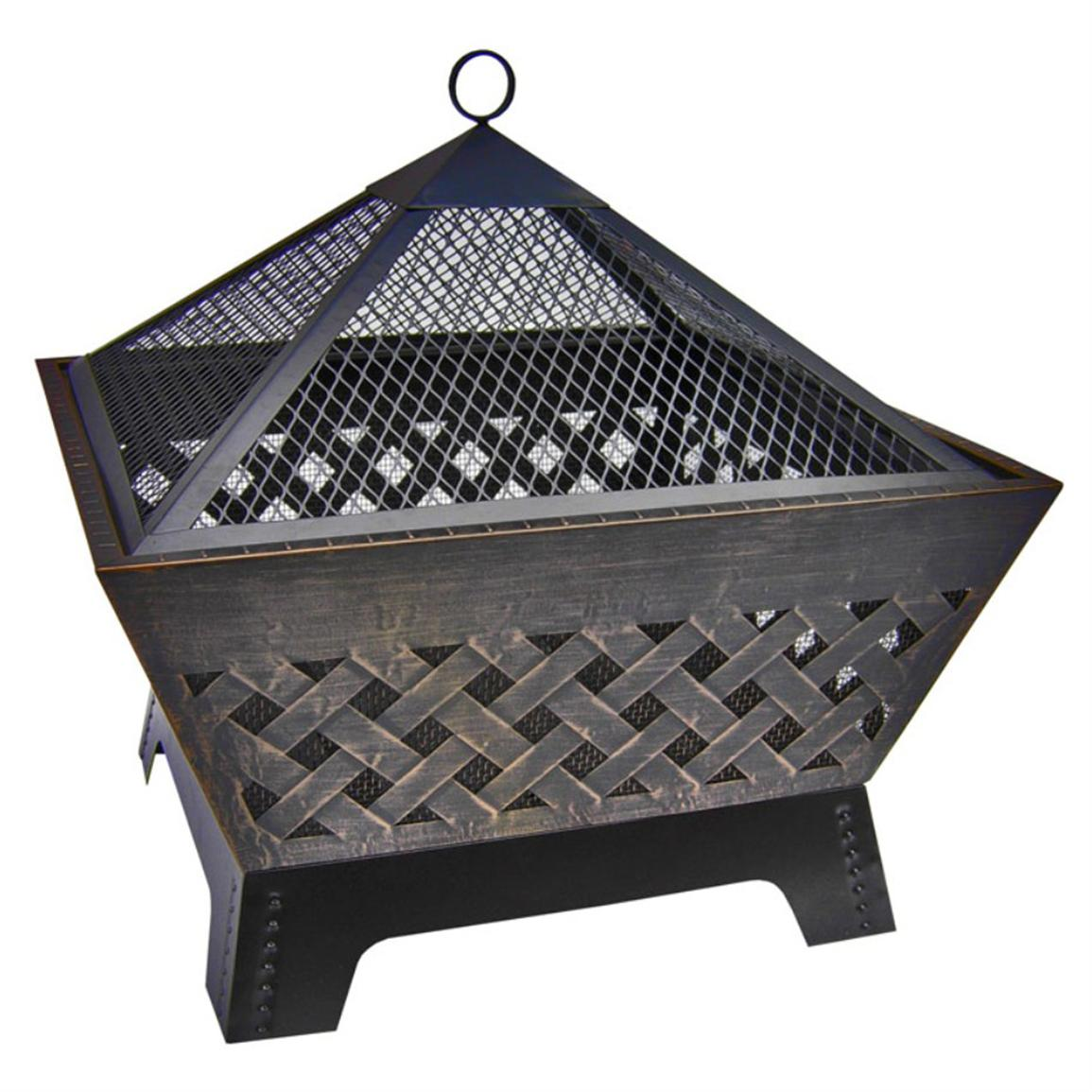 Landmann 26 inch Barrone Fire Pit with Cover