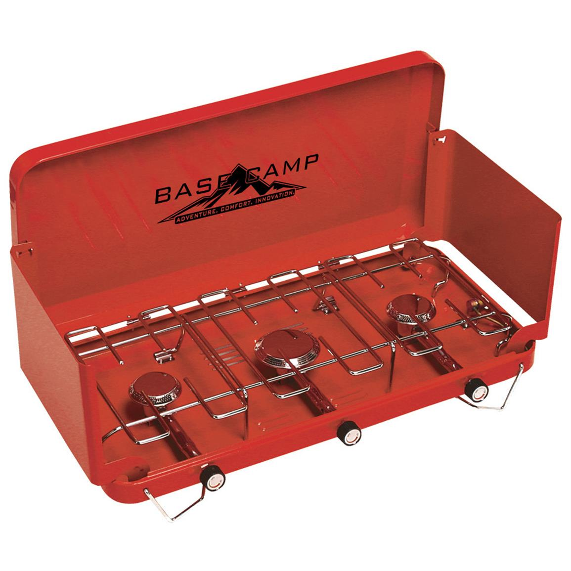 BaseCamp™ 3-burner Camp Stove