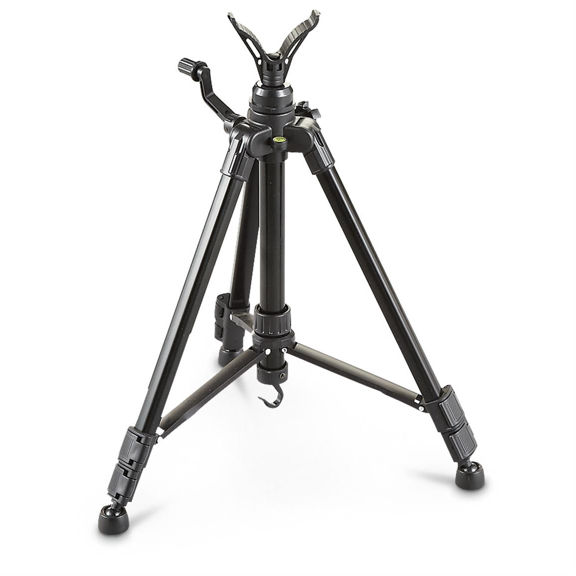 "Guide Gear 42"" Shooting Stick Tripod • Adjustable tubular aluminum legs"