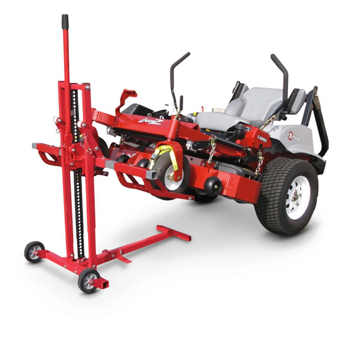 Use to lift your mower or as a heavy-duty jack