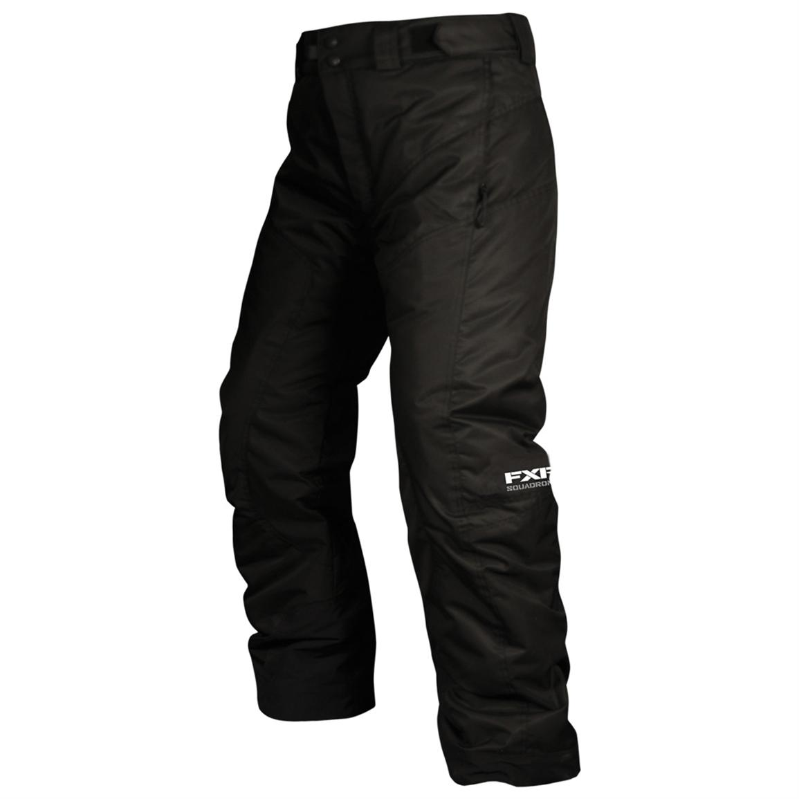 Youth FXR Squadron Snow Pants, Black