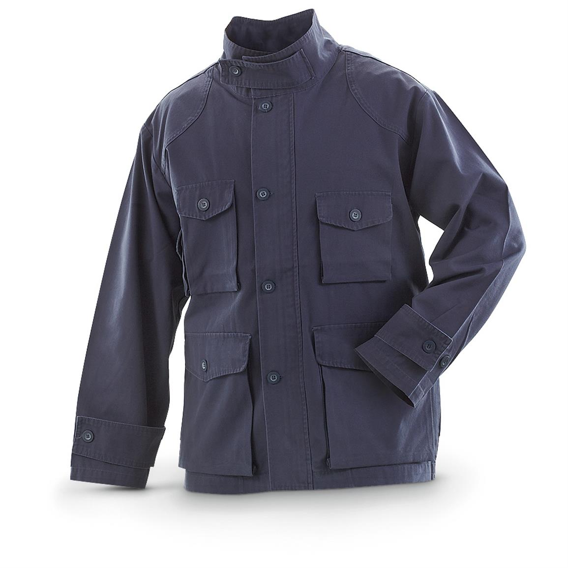 Men's Military-style Shooters Jacket, Navy