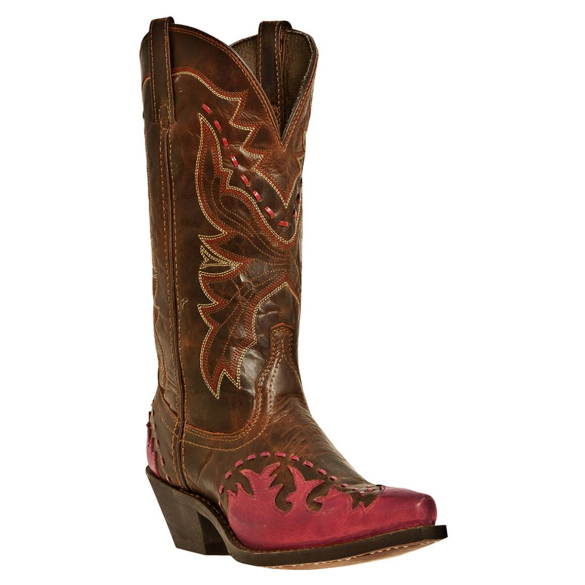 Women's Laredo 11 inch Fever Western Boots, Brown