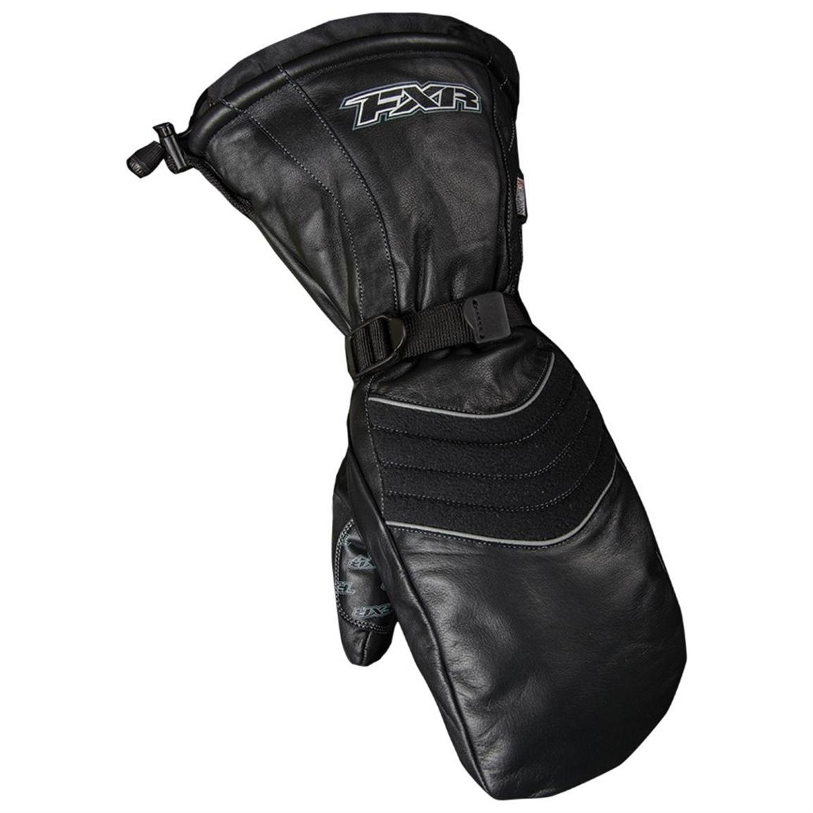 FXR® Leather Mitts