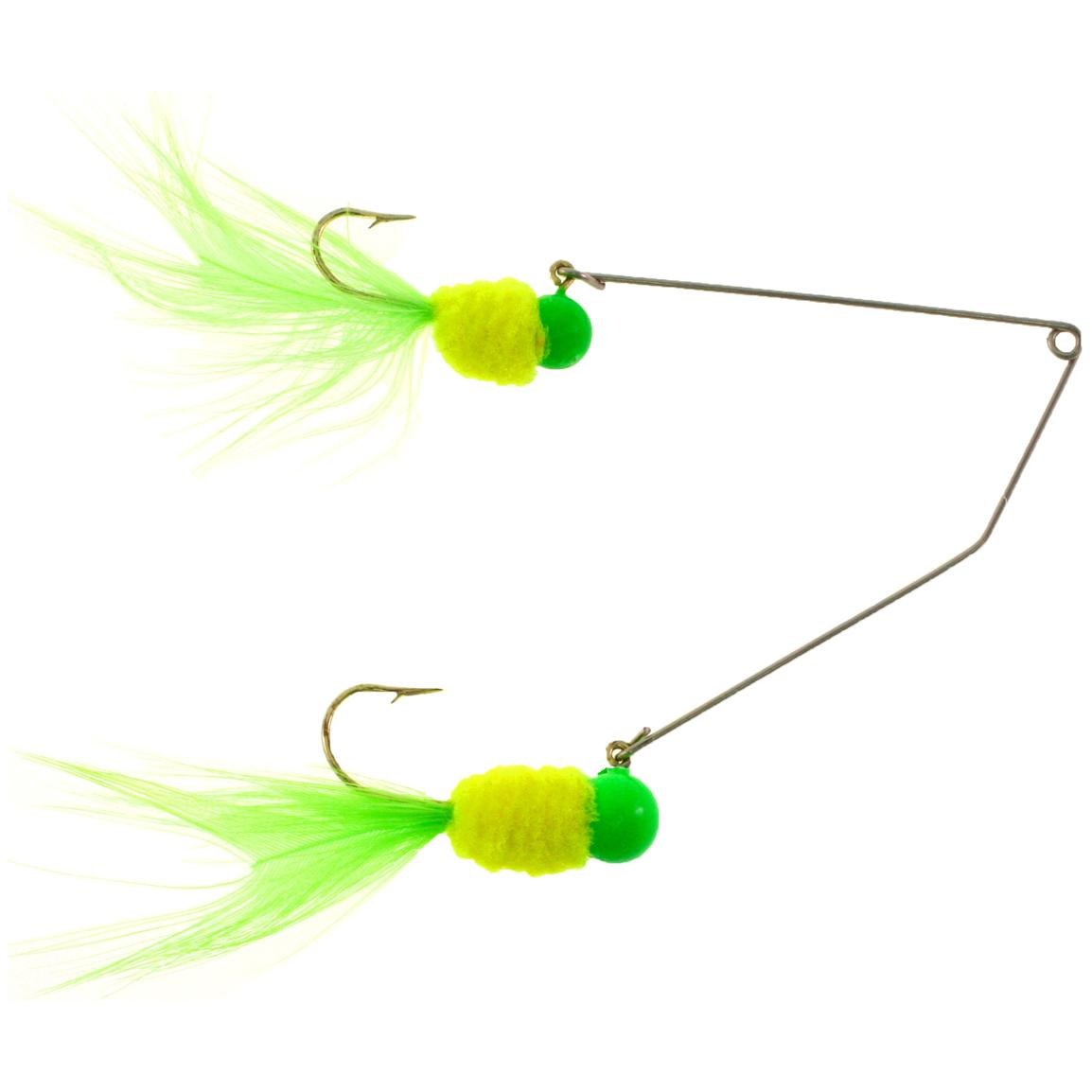 Mr. Crappie® Slab Daddy® Supper Rig, Parrot Head