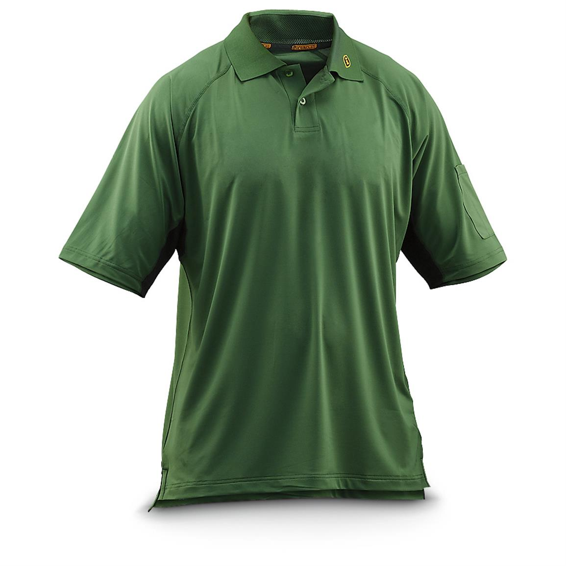 Ironclad® Short-sleeved Performance Polo Shirt. Green