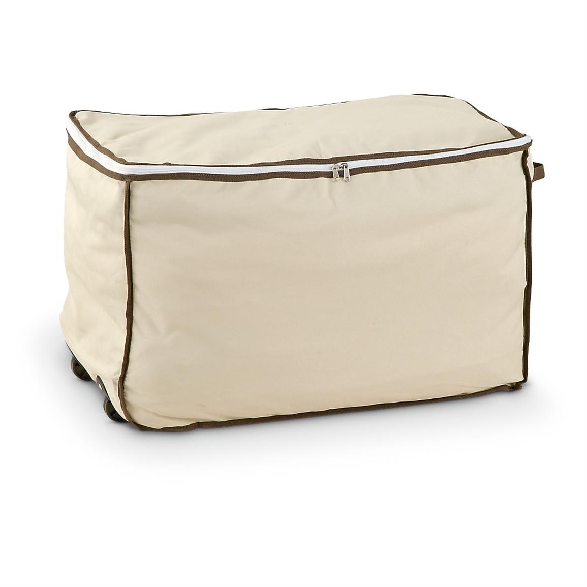 Rolling Storage Bag, Tan