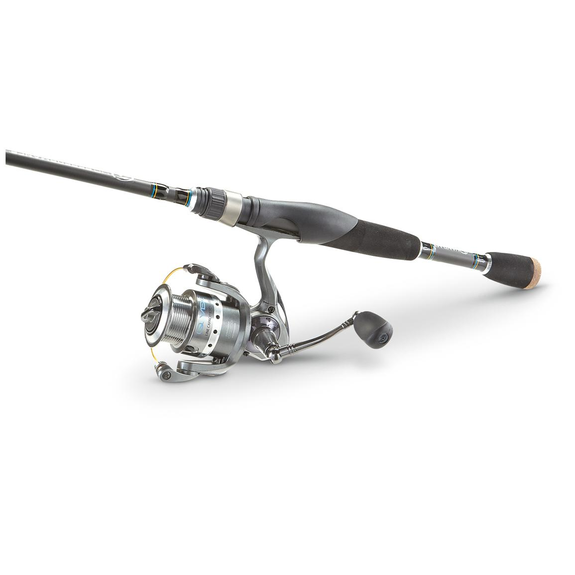 Quantum® 5 foot 6 inch Q-Vex Spinning Combo