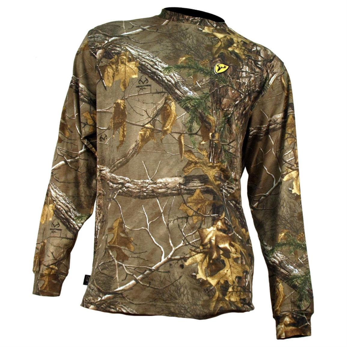 Shop for Hunting Clothing in Hunting. Buy products such as Men's Long Sleeve Camo Tee, Available in Multiple Patterns at Walmart and save.