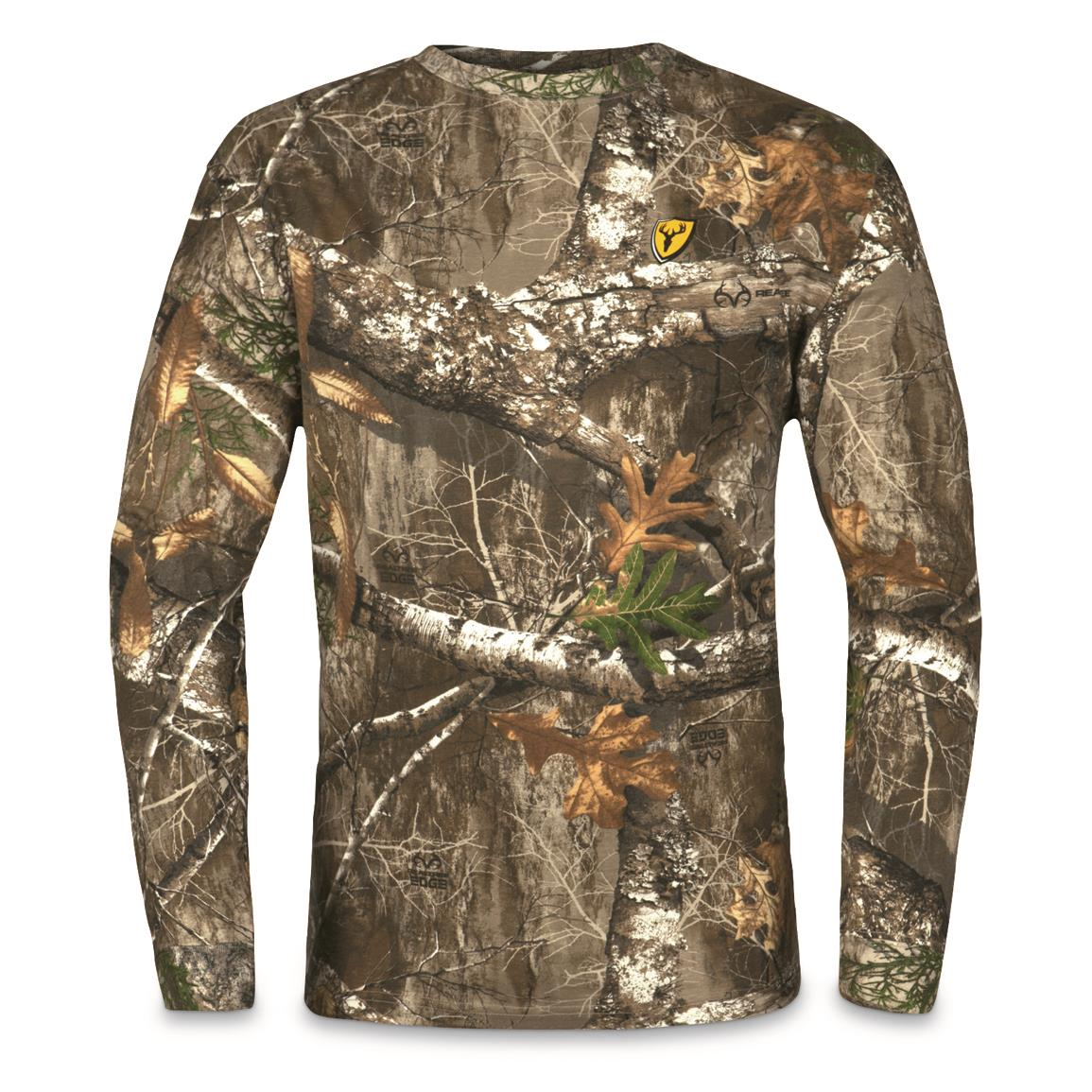 ScentBlocker Men's Long-Sleeve T-Shirt, Realtree EDGE™