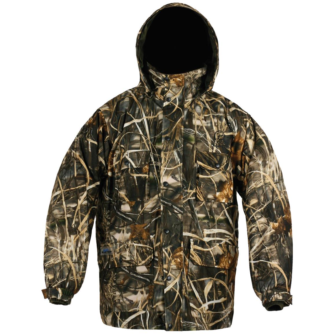 Whitewater® Ducks Unlimited® Transition 3-in-1 Parka, Realtree Max-4®