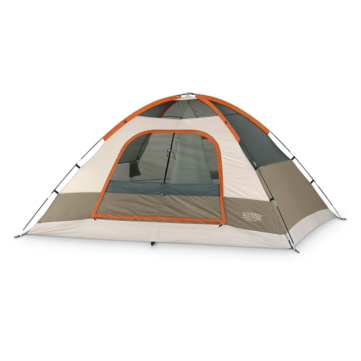 Wenzel® Pine Ridge 5-person Tent • Without Rainfly • Sleeps 5 • 10 feet x 8 inches • 5 feet high
