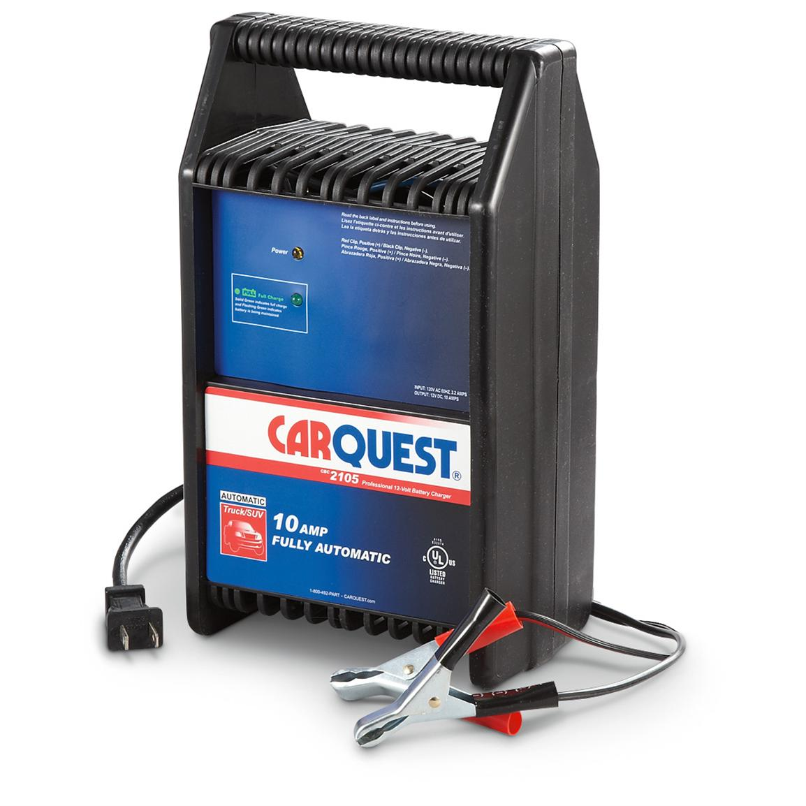 CARQUEST® 12V 10-amp Automatic Charger