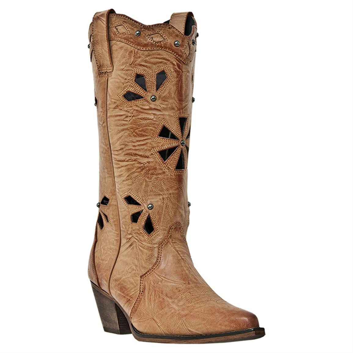 Women's Dingo Wendy Cowboy Boots, Latigo