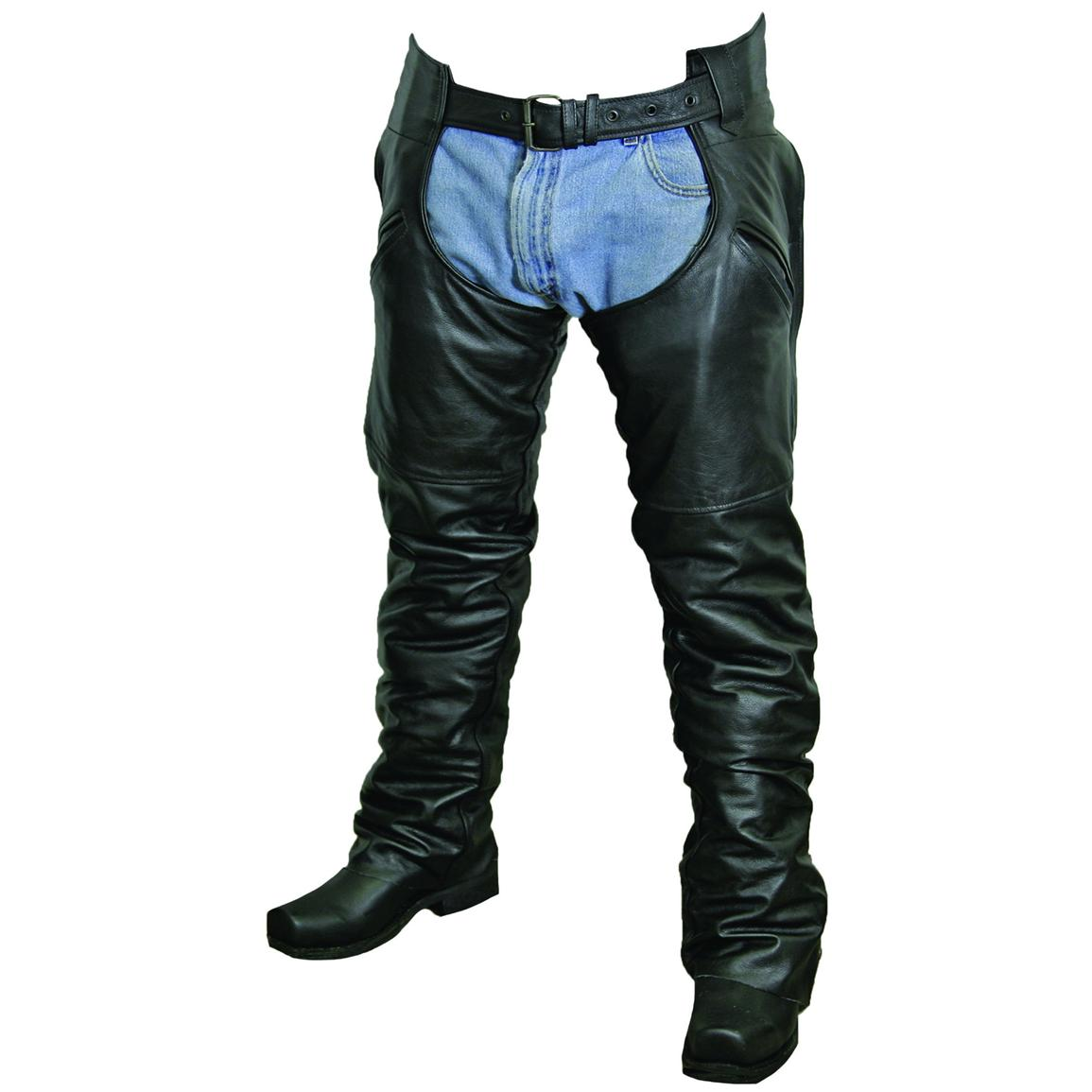 Unisex Snap-out Liner Chaps by Milwaukee Motorcycle Clothing Company®